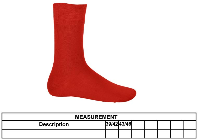 Grössentabelle Kariban | K813 Socken